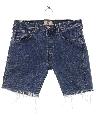 Mens Cut Off Denim Levis Jeans Shorts