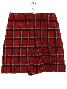 Womens Wool Culottes Shorts