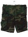 Mens Army Sport Shorts