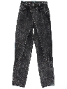 Womens Western Style Totally 80s Denim Jeans Pants