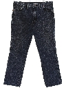 Mens Western Style Straight Leg Denim Jeans Pants
