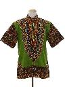 Mens Dashiki Hippie Shirt