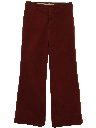 Mens Bellbottom Flared Pants