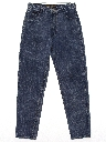 Mens Baggy Tapered Leg Denim Jeans Pants