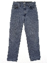 Womens Designer Baggy Tapered Leg Denim Jeans Pants