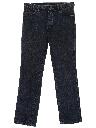 Mens Straight Leg Denim Jeans Pants