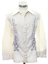 Mens/Boys Embroidered Hippie Shirt