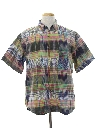 Mens Totally 80s Hippie Style Shirt