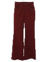 Unisex Bellbottom Mod Western Style Leisure Pants