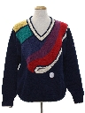 Mens Totally 80s Golf Sweater