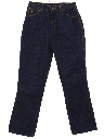Womens Totally 80s Denim Designer Jeans Pants