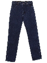 Womens Tapered Leg Denim Jeans Pants