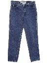 Mens Totally 80s Denim Designer Jeans Pants