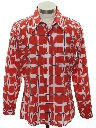 Mens/Boys Mod Print Shirt