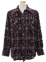 Mens Flannel Western Shirt