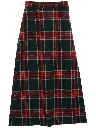 Womens Wool Maxi Skirt