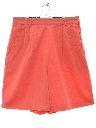 Womens Totally 80s Tennis Shorts