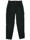 Womens High Waisted Designer Tapered Leg Denim Jeans Pants