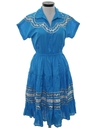 Womens Western Style Square Dancing Dress