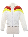 Womens Totally 80s Rainbow Ski Jacket