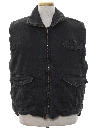 Mens Reverse Totally 80s Denim Vest