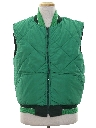 Mens Reversible Totally 80s Ski Vest Jacket