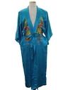 Unisex Silk Embroidered Kimono Robe