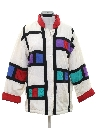 Womens Totally 80s Hip Hop Style Jacket