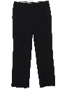 Mens Flared Flat Front Slacks Pants