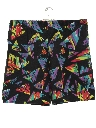 Mens Totally 80s Print Shorts
