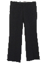 Mens Flared Slacks Pants