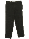 Mens Wide Leg Slacks Pants