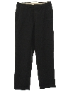 Mens Wide Leg Flat Front Slacks Pants