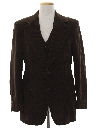 Mens Disco Blazer Sportcoat Jacket and Vest