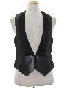 Mens Formal Tuxedo Style Vest