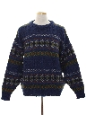 Mens Wool Pullover Sweater