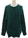 Mens Totally 80s Wool Cosby Style Sweater