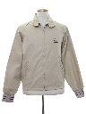 Mens Golf Zip Jacket