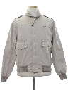 Mens Totally 80s Field Style Golf Zip Jacket