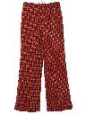 Womens Bellbottom Knit Pants