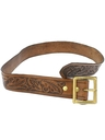 Mens Accessories - Hippie Leather Western Belt