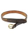 Mens Accessories - Hippie Western Leather Belt