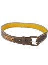 Mens Accessories - Hippie Western Leather Belt