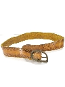 Womens Accessories - Western Leather Hippie Belt