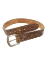 Mens Accessories - Western Leather Hippie Belt