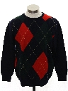 Mens Totally 80s Preppy Wool Sweater