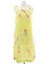 Womens A-Line Sun Dress