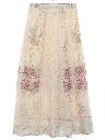 Womens Maxi Hippie Skirt
