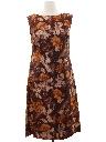 Womens Mod Cocktail Dress