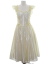 Womens Designer Totally 80s Maxi Prom Or Cocktail Dress